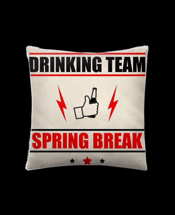 Cojín Piel de Melocotón 45 x 45 cm Drinking Team Spring Break por Benichan