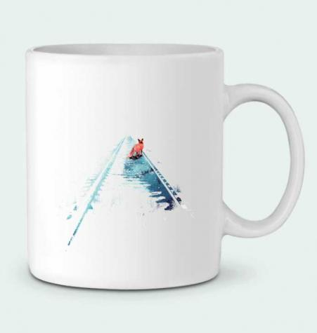 Taza Cerámica From nowhere to nowhere por robertfarkas