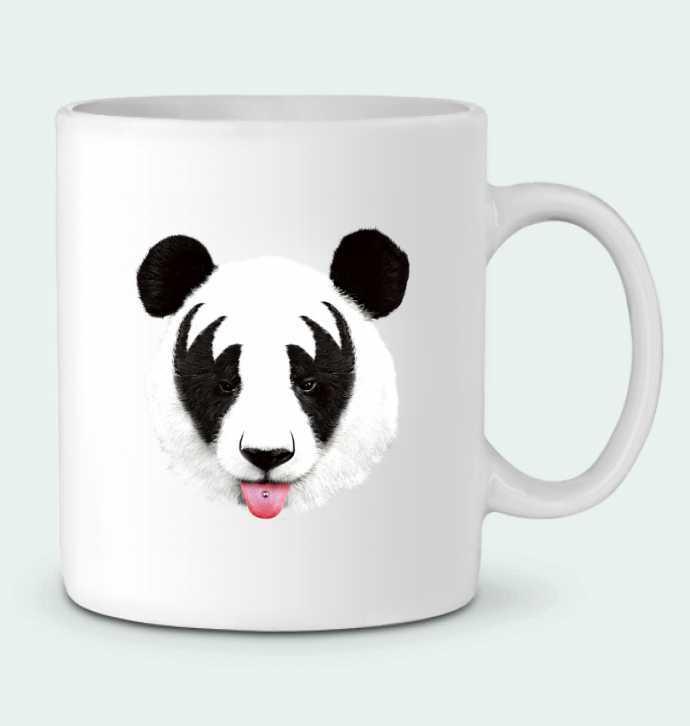 Taza Cerámica Kiss of a panda por robertfarkas