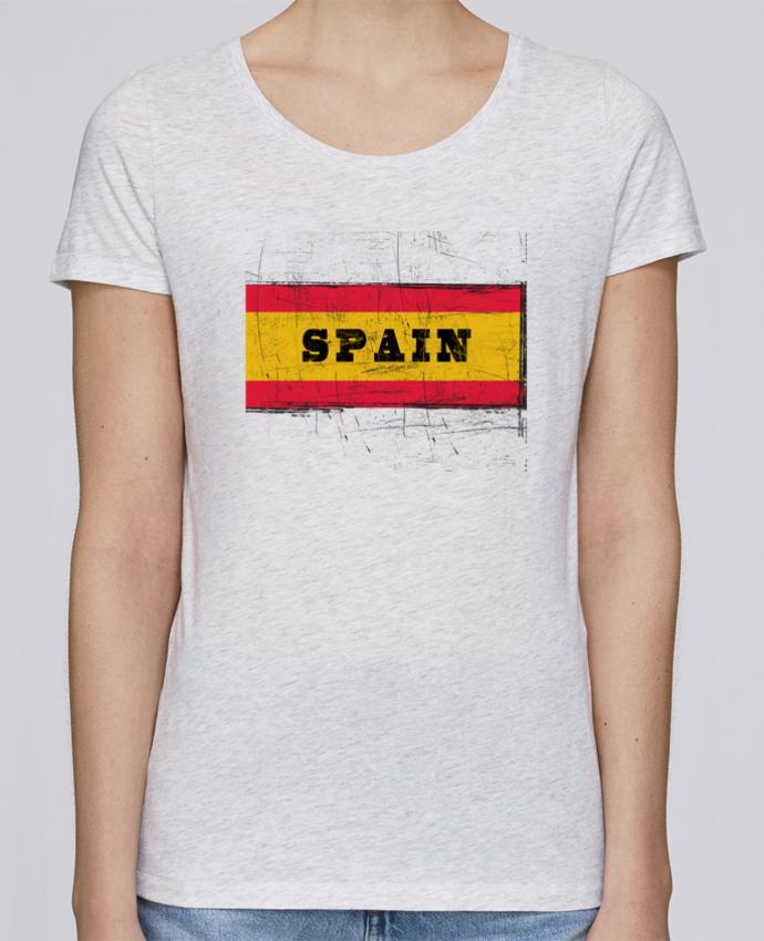 Camiseta Mujer Stellla Loves Drapeau espagnol por Les Caprices de Filles