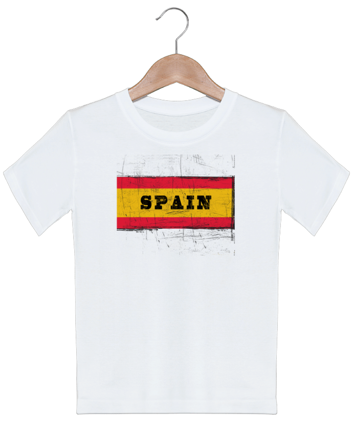 T-shirt garçon motif Drapeau espagnol Les Caprices de Filles
