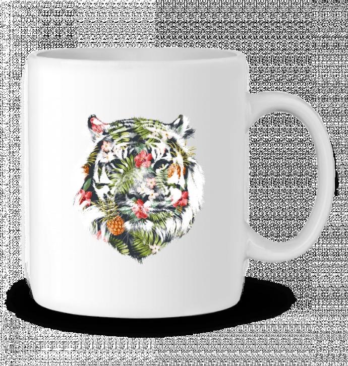 Taza Cerámica Tropical tiger por robertfarkas