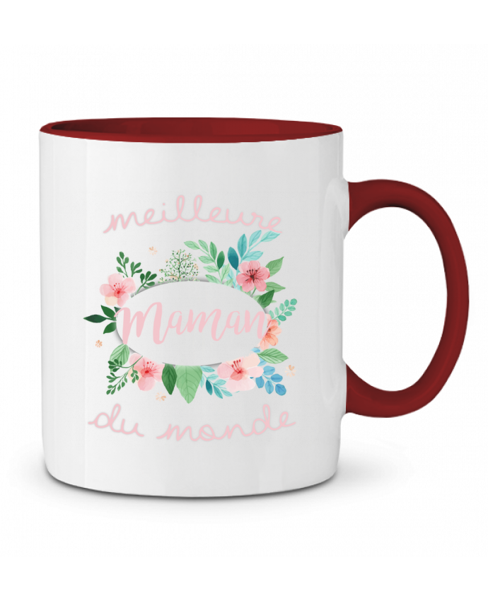 Taza Cerámica Bicolor Meilleure maman du monde FRENCHUP-MAYO