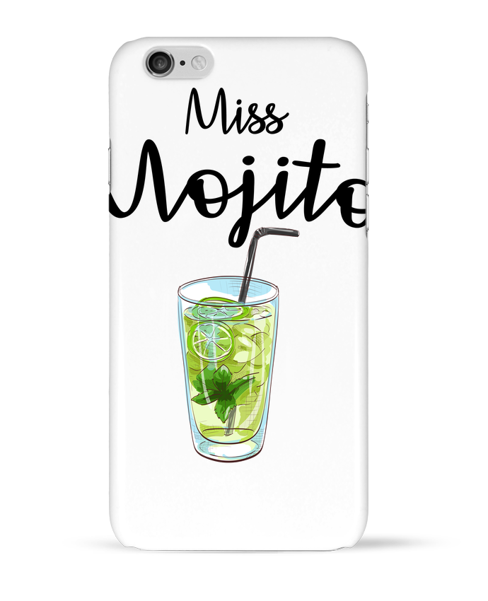 Carcasa  Iphone 6 Miss Mojito por FRENCHUP-MAYO