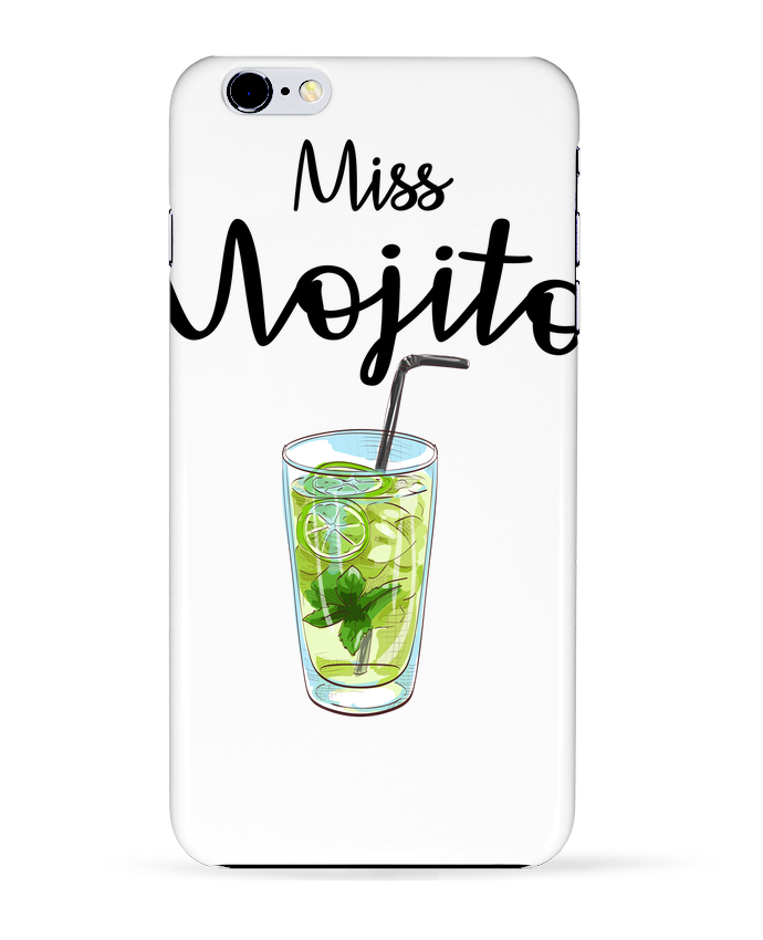Carcasa Iphone 6+ Miss Mojito de FRENCHUP-MAYO