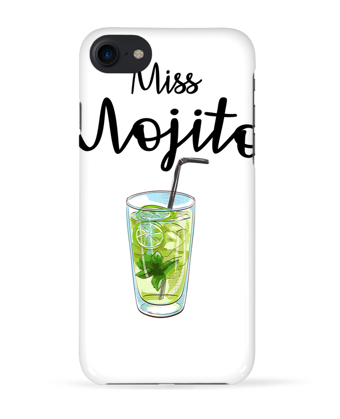 Carcasa Iphone 7 Miss Mojito de FRENCHUP-MAYO
