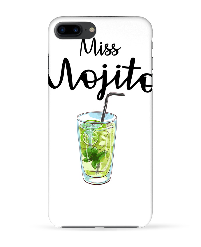 Carcasa Iphone 7+ Miss Mojito por FRENCHUP-MAYO