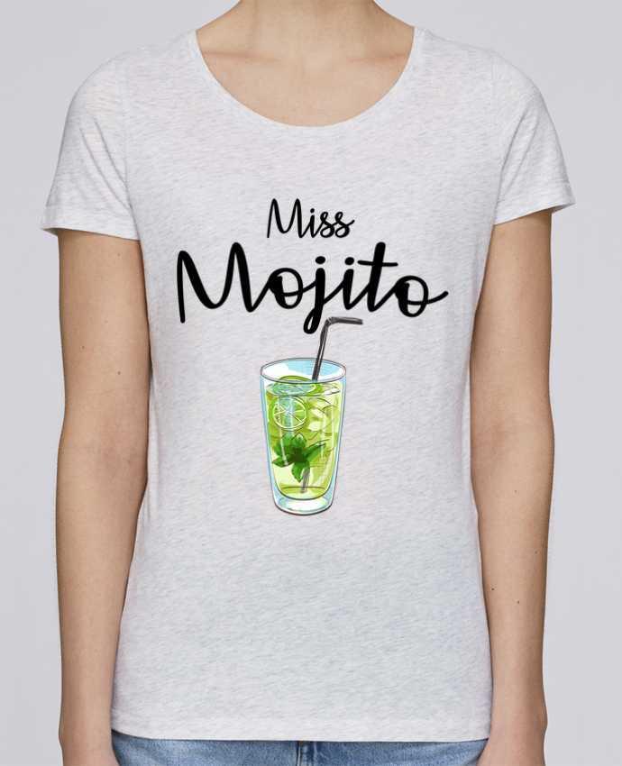 Camiseta Mujer Stellla Loves Miss Mojito por FRENCHUP-MAYO