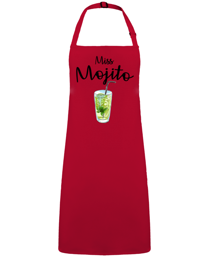 Delantal Sin Bolsillo Miss Mojito por  FRENCHUP-MAYO