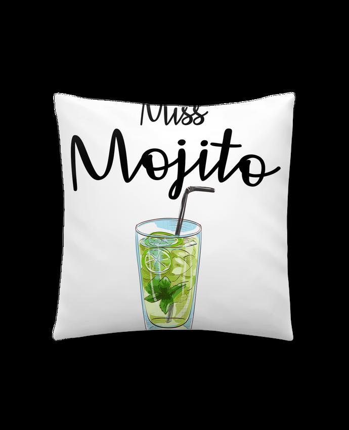 Cojín Sintético Suave 45 x 45 cm Miss Mojito por FRENCHUP-MAYO
