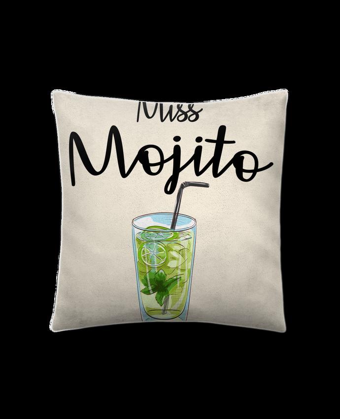 Cojín Piel de Melocotón 45 x 45 cm Miss Mojito por FRENCHUP-MAYO