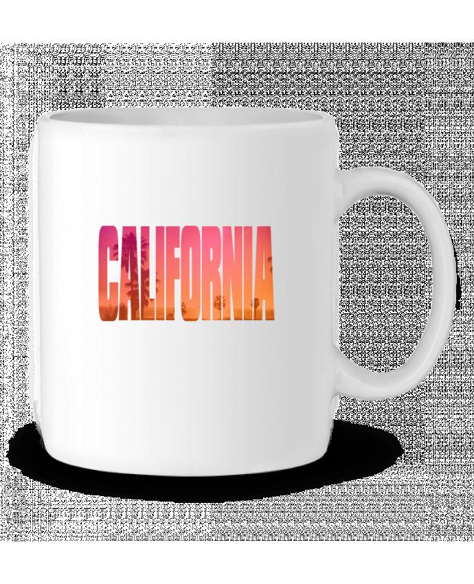 Taza Cerámica California por justsayin