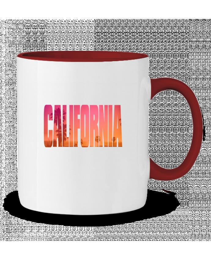 Taza Cerámica Bicolor California justsayin
