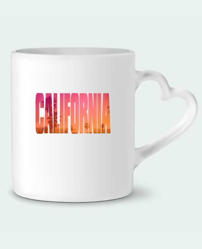 Taza Corazón California por justsayin