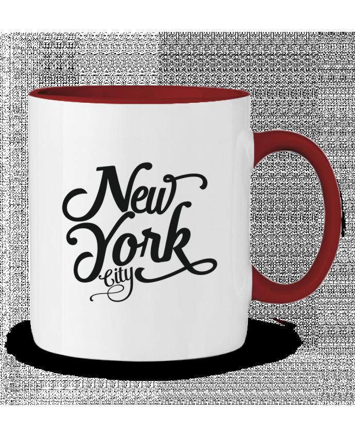 Taza Cerámica Bicolor New York City justsayin