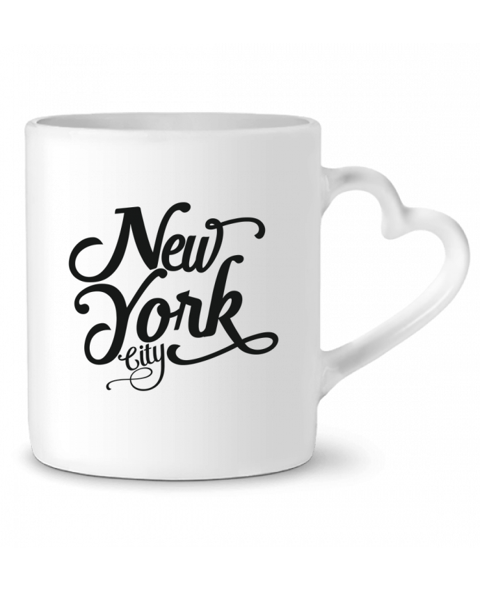 Taza Corazón New York City por justsayin