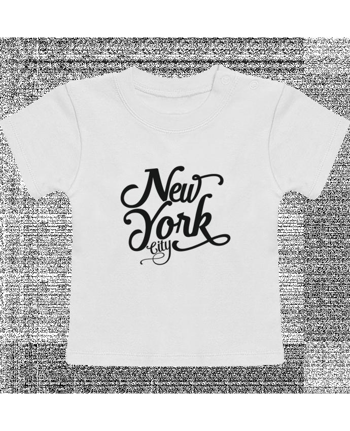 Camiseta Bebé Manga Corta New York City manches courtes du designer justsayin