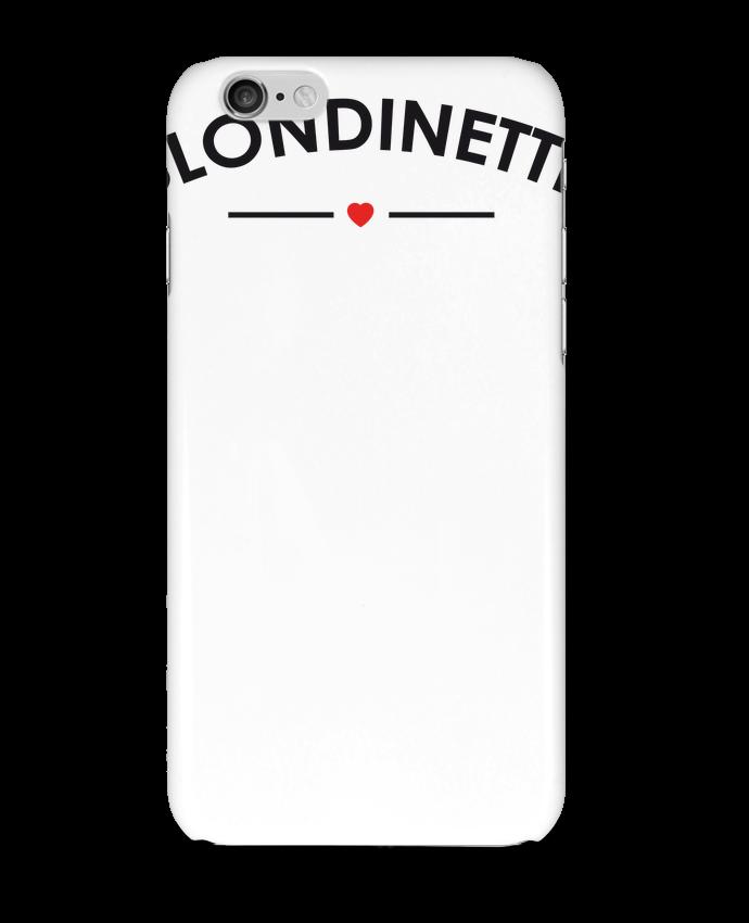 Carcasa  Iphone 6 Blondinette por FRENCHUP-MAYO