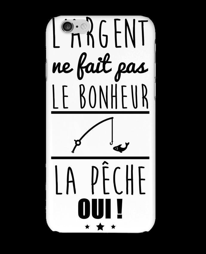 Carcasa  Iphone 6 L'argent ne fait pas le bonheur la pêche oui ! por Benichan