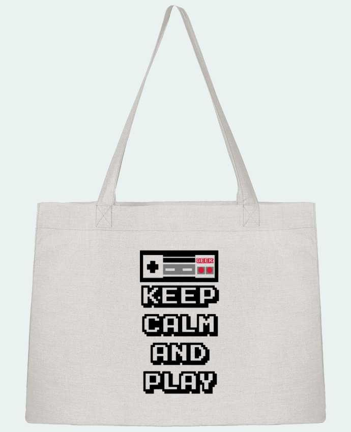 Bolsa de Tela Stanley Stella KEEP CALM AND PLAY por SG LXXXIII