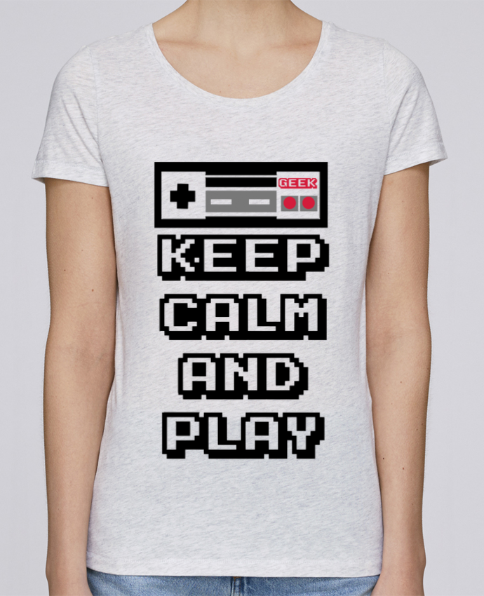Camiseta Mujer Stellla Loves KEEP CALM AND PLAY por SG LXXXIII