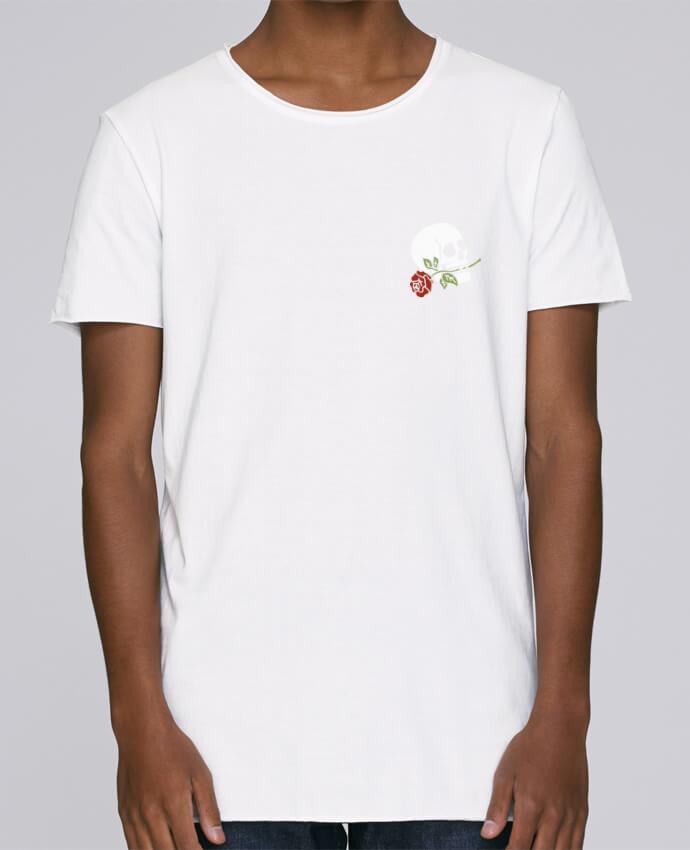 Camiseta Hombre Tallas Grandes Stanly Skates Skull flower por Ruuud