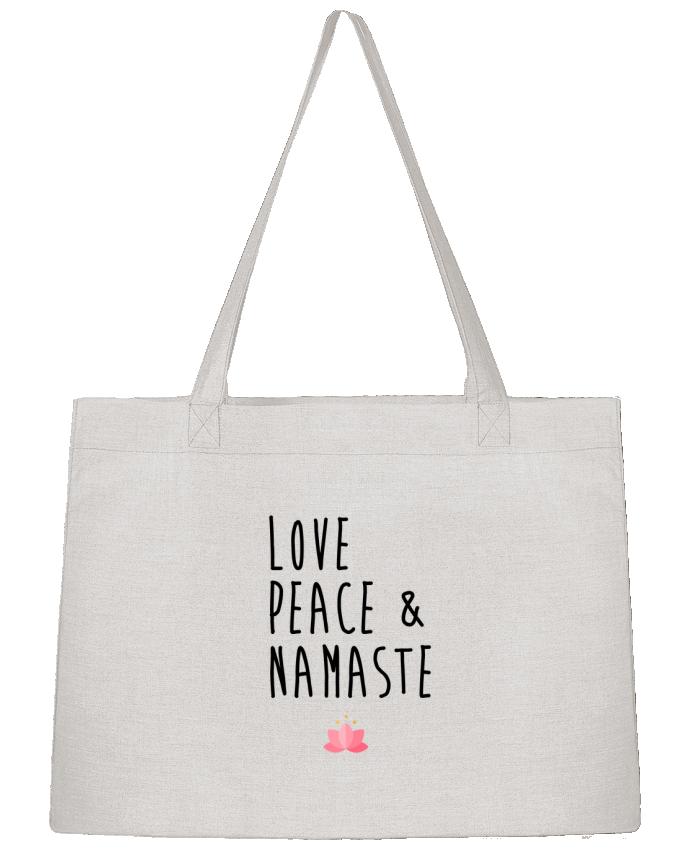 Bolsa de Tela Stanley Stella Love, Peace & Namaste por tunetoo