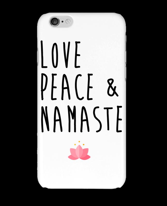 Carcasa  Iphone 6 Love, Peace & Namaste por tunetoo