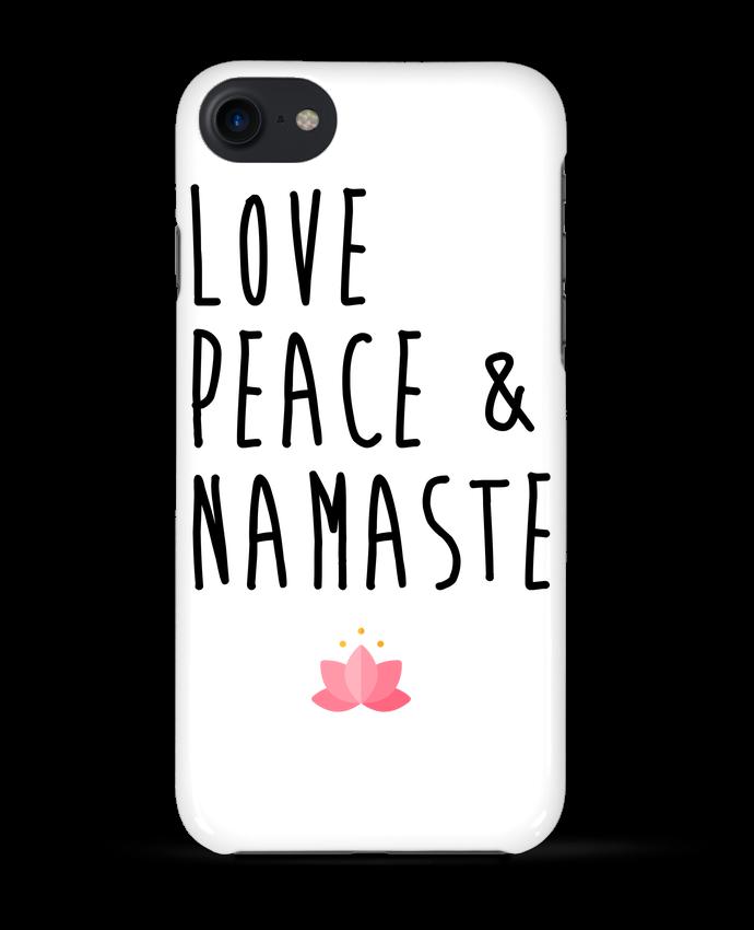 Carcasa Iphone 7 Love, Peace & Namaste de tunetoo