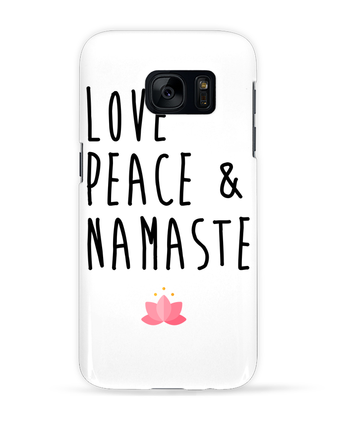 Carcasa Samsung Galaxy S7 Love, Peace & Namaste por tunetoo