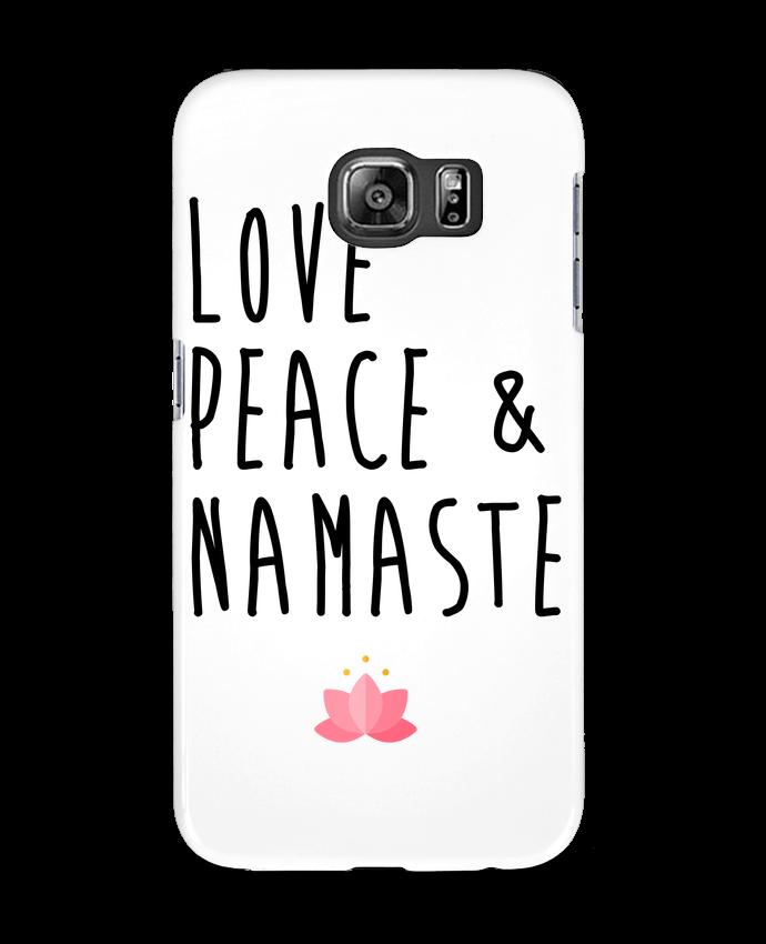 Carcasa Samsung Galaxy S6 Love, Peace & Namaste - tunetoo