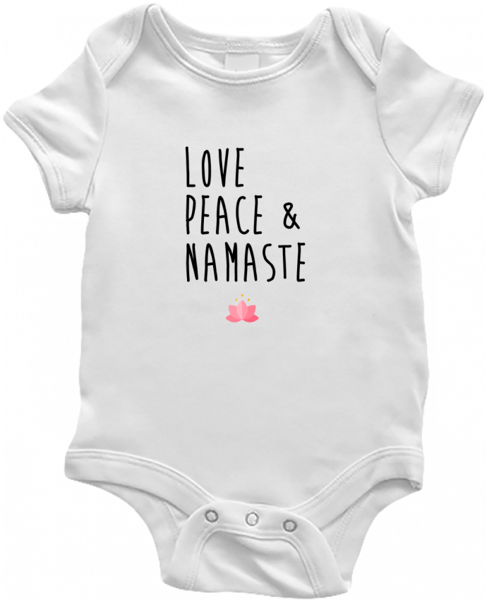 Body Bebé Love, Peace & Namaste por tunetoo