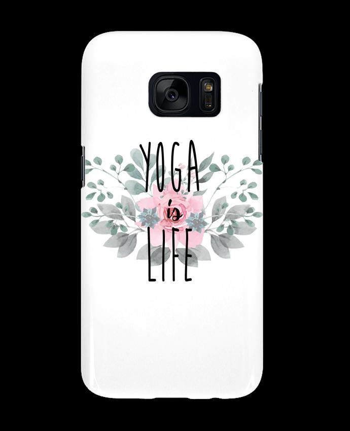 Carcasa Samsung Galaxy S7 Yoga is life por tunetoo