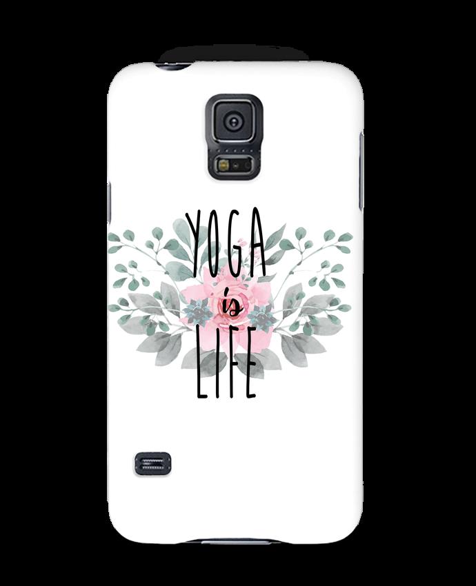 Carcasa Samsung Galaxy S5 Yoga is life por tunetoo