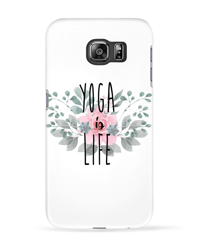Carcasa Samsung Galaxy S6 Yoga is life - tunetoo