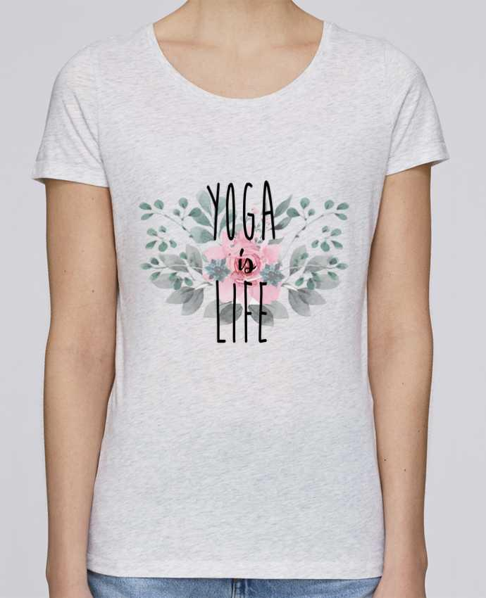 Camiseta Mujer Stellla Loves Yoga is life por tunetoo