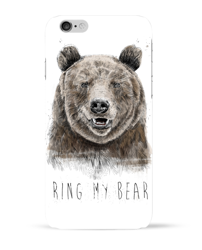 Carcasa  Iphone 6 Ring my bear por Balàzs Solti
