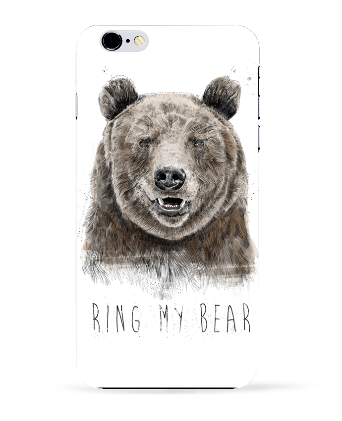 Carcasa Iphone 6+ Ring my bear de Balàzs Solti