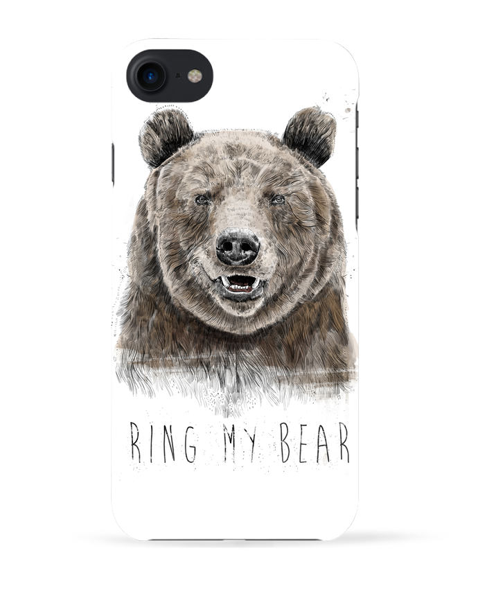 Carcasa Iphone 7 Ring my bear de Balàzs Solti