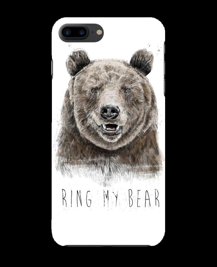 Carcasa Iphone 7+ Ring my bear por Balàzs Solti