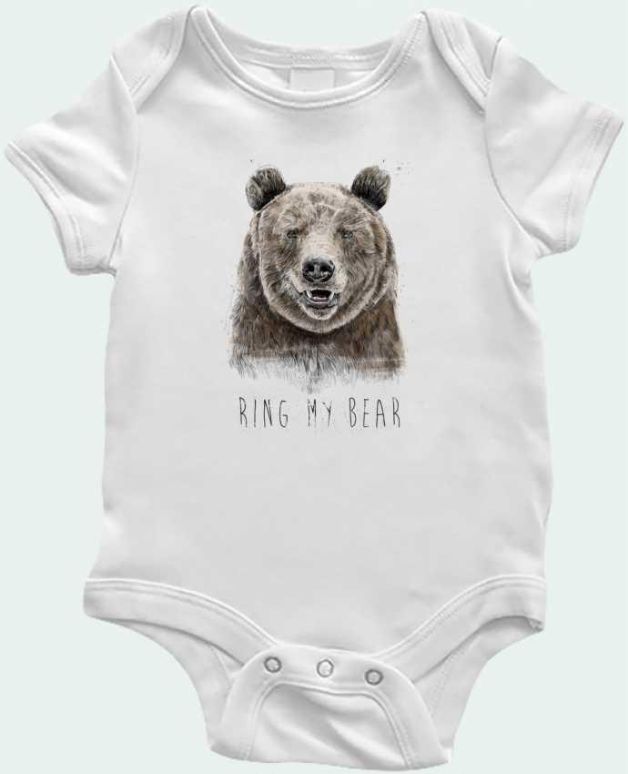 Body Bebé Ring my bear por Balàzs Solti