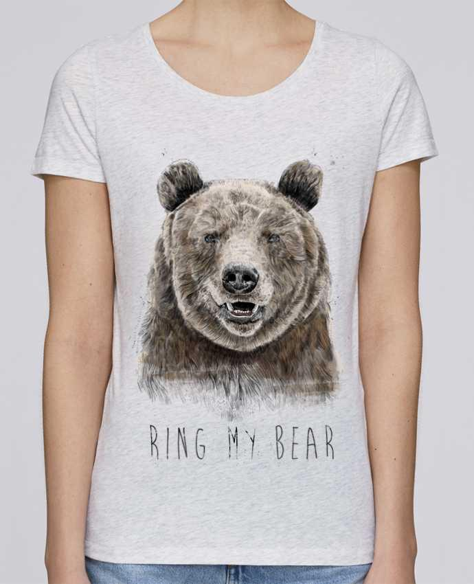 Camiseta Mujer Stellla Loves Ring my bear por Balàzs Solti