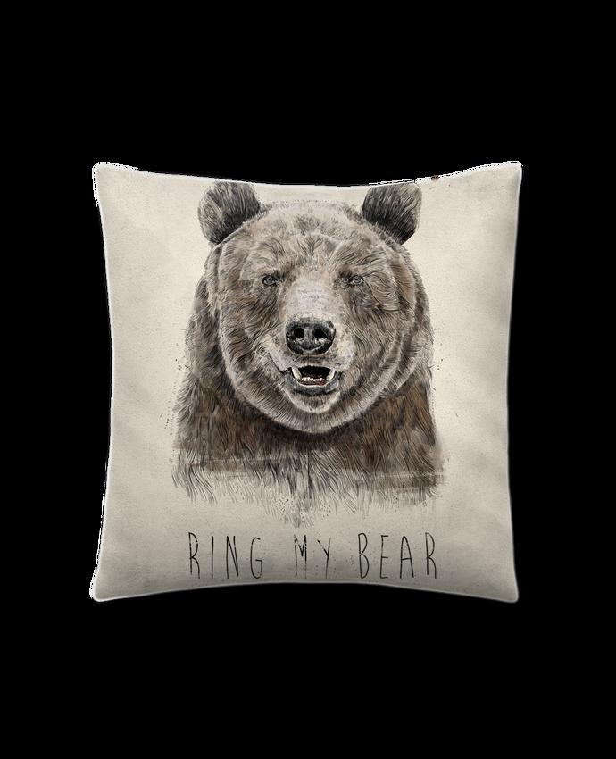 Cojín Piel de Melocotón 45 x 45 cm Ring my bear por Balàzs Solti