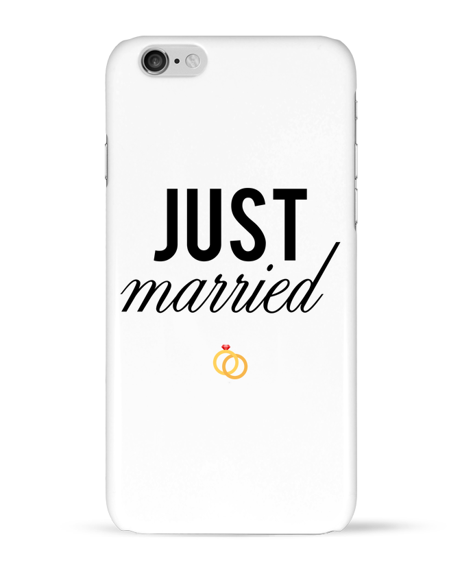 Carcasa  Iphone 6 Just married por tunetoo