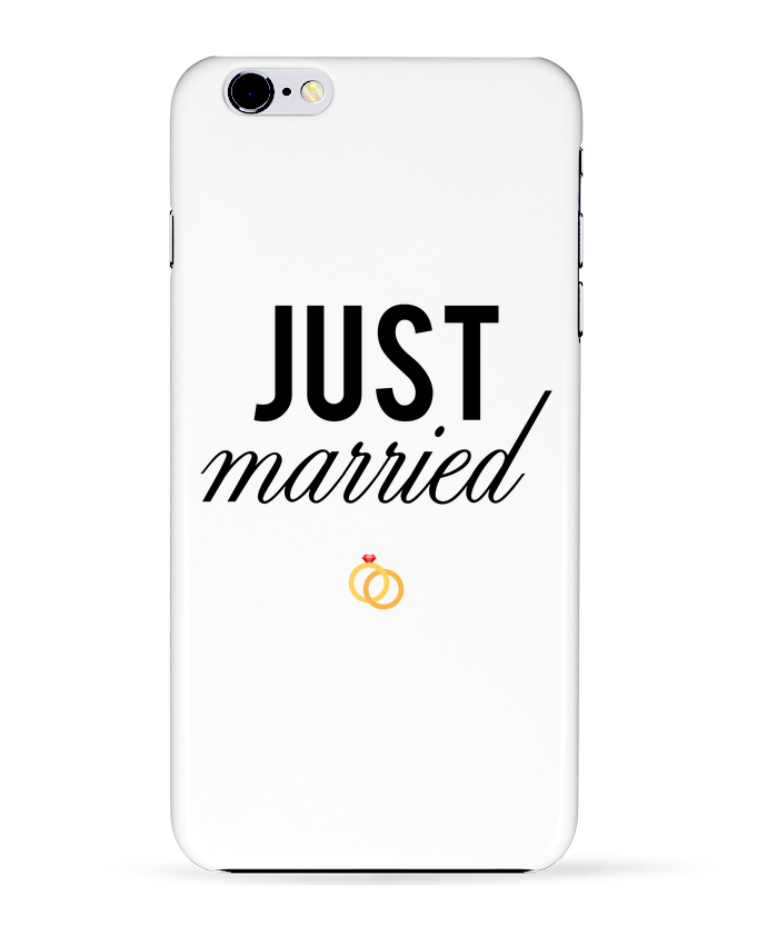 Carcasa Iphone 6+ Just married de tunetoo