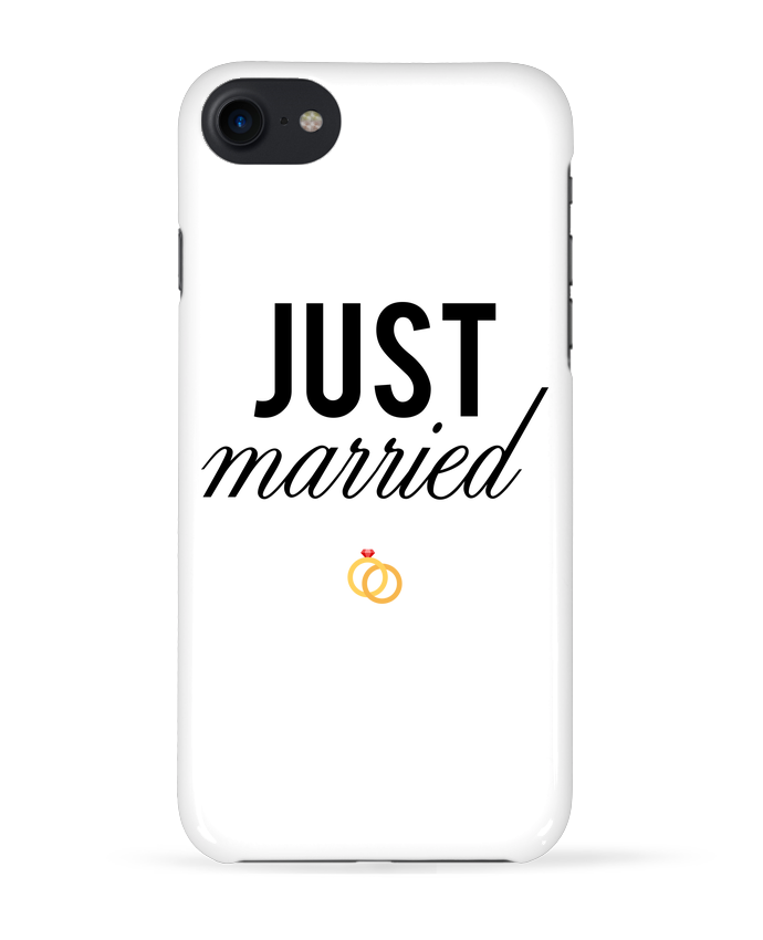Carcasa Iphone 7 Just married de tunetoo