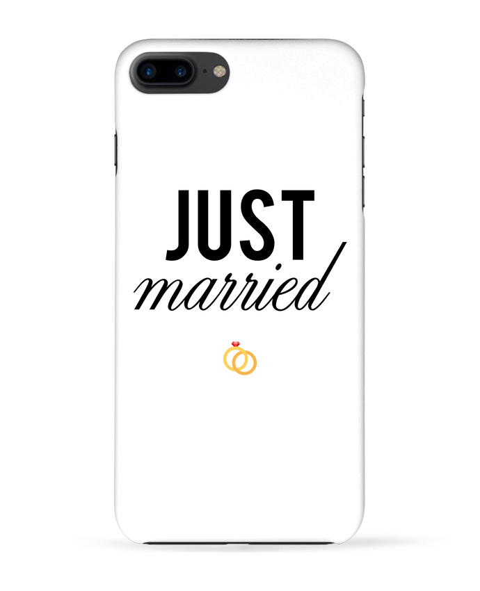 Carcasa Iphone 7+ Just married por tunetoo