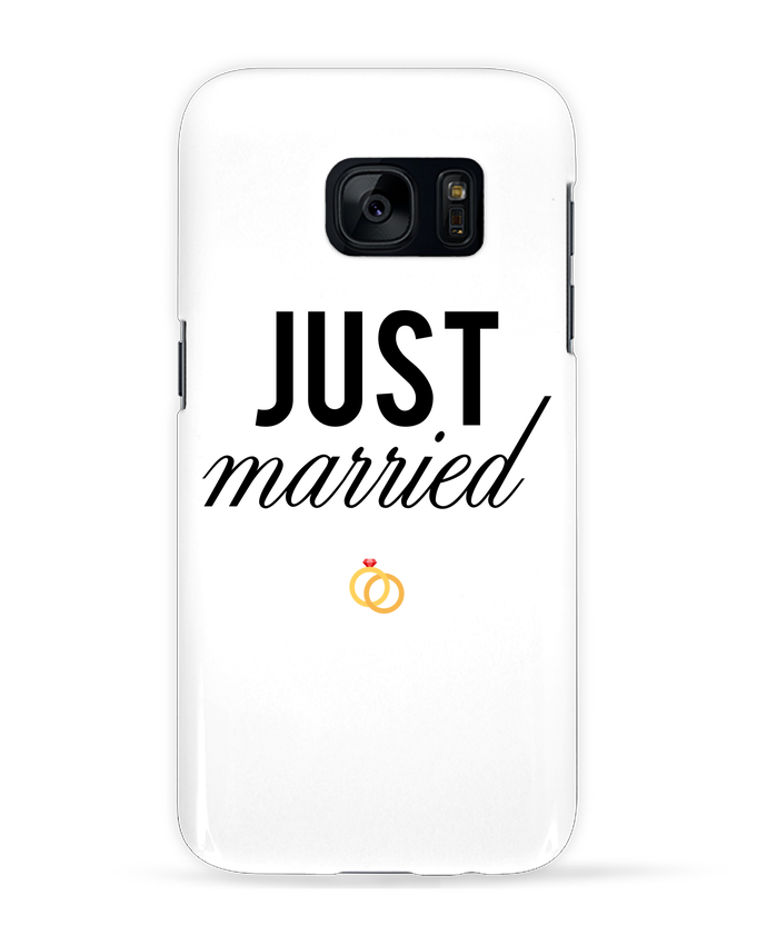 Carcasa Samsung Galaxy S7 Just married por tunetoo