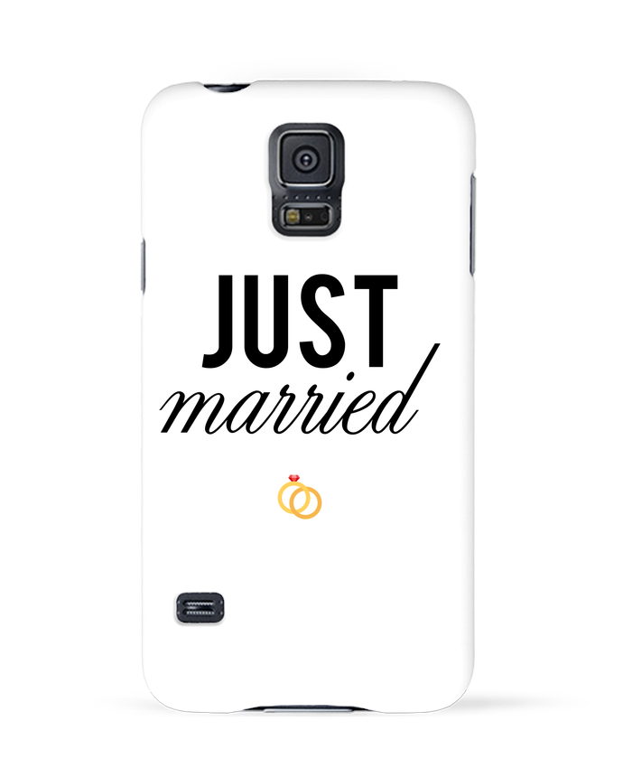 Carcasa Samsung Galaxy S5 Just married por tunetoo