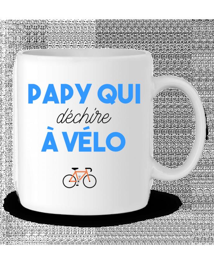 Taza Cerámica Papy qui déchire à Vélo por tunetoo